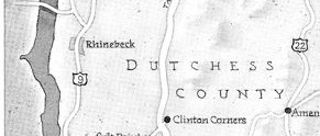 map of Dutchess County